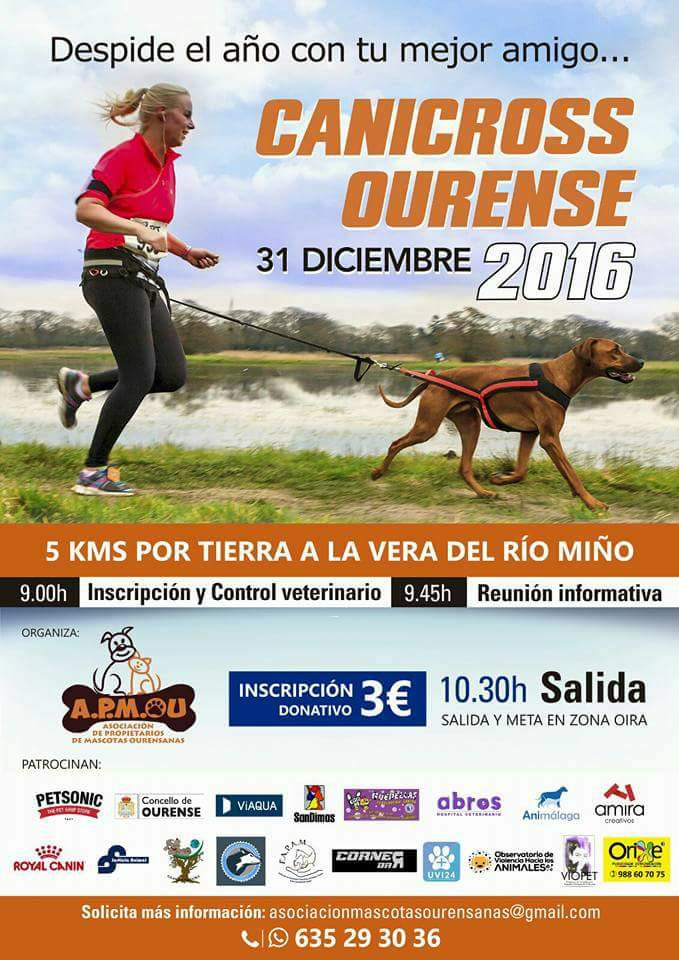 Primer Canicross Ourense 2016