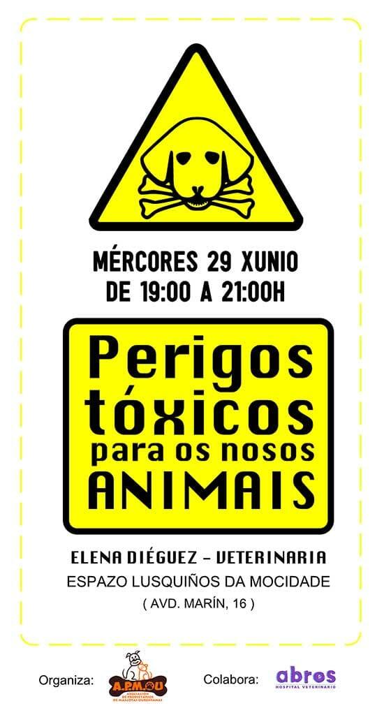 Cartel peligros tóxicos