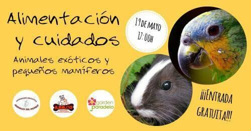 Alimentación y Cuidados de Animales Exóticos