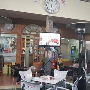 Interior del Café Central