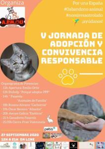 V jornada de adopción y convivencia responsable